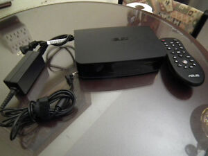 ASUS O!Play Air TV HD Media Player (Black) with remote