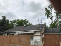 Someone to screw down steel roof and paint