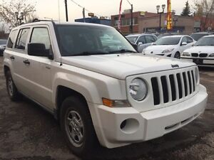 2009 Jeep Patriot North/6 MONTHS WARRANTY INCLUDED.