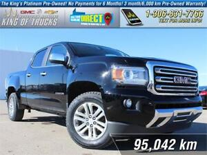 2015 GMC Canyon SLT One Owner | Leather | PST Paid