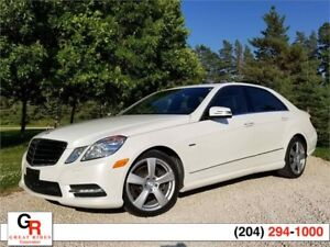 2012 Mercedes-Benz E350 4MATIC ONLY 77,000 kms, BC car, loaded