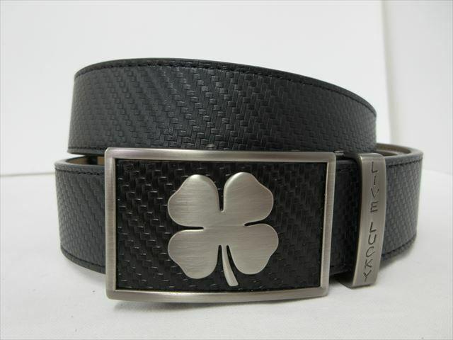 Golf belt for men Black Clover Belt Brand New LUCKY Belt Men