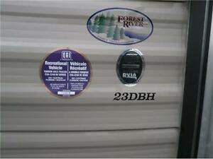 2017 FOREST RIVER GREY WOLF LIMITED 23DBH! BUNKS, SLIDE! $23995! London Ontario image 4