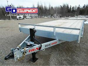 20' x 8 1/2' Hot dip galvanized deck over K-Trail