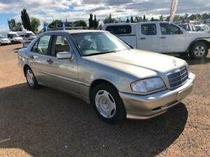 1998 Mercedes-Benz C200 W202 Classic Gold 5 Speed Automatic Sedan Minchinbury Blacktown Area Preview