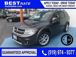 DODGE JOURNEY R/T - APPROVED IN 30 MINUTES! - ANY CREDIT LOANS