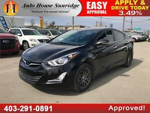 2015 Hyundai Elantra GLS LEATHER NAVI BCAM