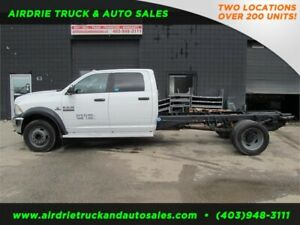 2013 Ram 5500 SLT Crew Cab  Cab and Chassis with Cummins Diesel