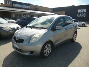 2006 Toyota Yaris NCP91R YRS Silver Chrome 4 Speed Automatic Hatchback Wangara Wanneroo Area Preview