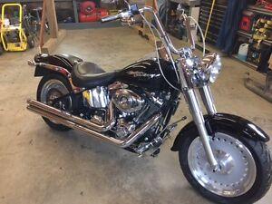 2008 Harley Davidon FLSTF Fatboy