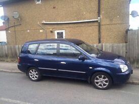 Kia Carens 2005 Automatic Diesel 1.9 12 months MOT, Low mileage,5 seater,clean,family car