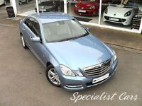MERCEDES-BENZ E CLASS 2.1 E220 CDI BLUEEFFICIENCY AVANTGARDE 4d AUTO 170 (blue) 2011