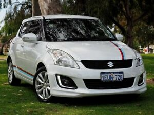 2015 Suzuki Swift FZ MY15 GLX Navigator White 4 Speed Automatic Hatchback Myaree Melville Area Preview