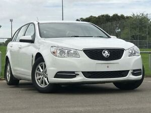 2013 Holden Commodore VF MY14 Evoke Sportwagon Heron White 6 Speed Sports Automatic Wagon Kings Park Blacktown Area Preview
