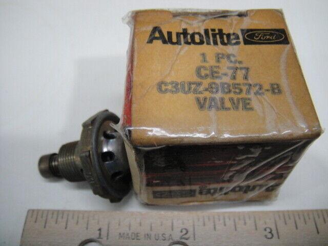 NOS OEM Genuine Ford 1963 64 E100 Econoline? Carburetor Spark Valve C3UZ-9B572-B