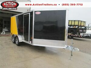 2016 NEO Snowmobile enclosed trailers, all sizes, direct pricing