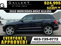 2010 Mercedes GLK350 4Matic $239 bi-weekly APPLY NOW DRIVE NOW