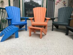 Resin Adarondach Chairs and Tables