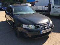 2006 Saab 9-3 diesel, starts and drives well, ice cold air con, sometimes has difficulty going into