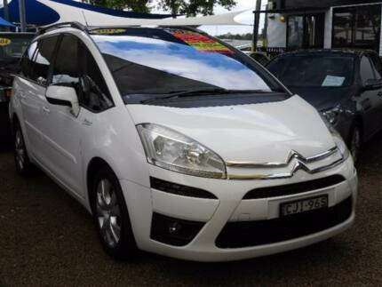 2012 Citroen C4 Picasso HDi EGS White 6 Speed Sports Automatic Single Clutch Wagon