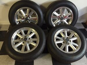 Mustang wheel and tire set