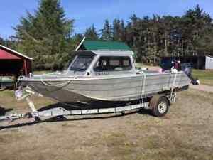 20 ft Marinex Aluminium Fishing Boat
