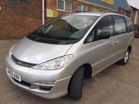 Toyota Previa 2.0 D-4D T3 ( 7 st ) Silver Manual