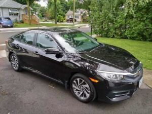 2016 Honda Civic EX - no accidents, immaculate condition