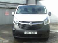Vauxhall Vivaro 2900 1.6Cdti 120Ps L2H1 Van EURO 6 DIESEL MANUAL WHITE (2017)