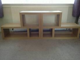 Oak Effect Shelves
