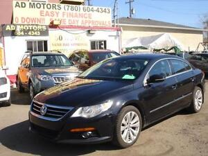 2010 VOLKSWAGEN PASSAT CC TURBO LEATHER -100% APPROVED FINANCING