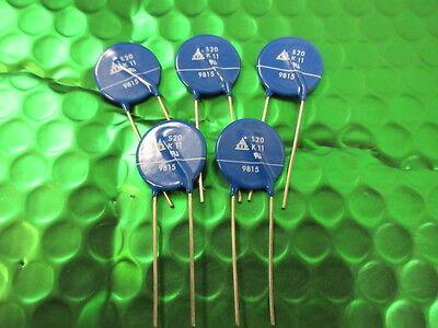 Varistor Circuit Protection - S20K11 VARISTOR 18V 2KA DISC 20MM B72220S110K101 EPCOS CIRCUIT PROTECTION.