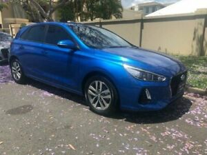 2017 Hyundai i30 PD Active Blue 6 Speed Auto Sequential Hatchback Southport Gold Coast City Preview