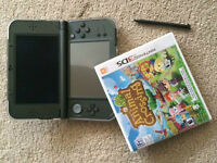 New Nintendo 3DS XL Console w/ Animal Crossing New Leaf 3DS