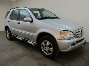 2002 MERCEDES ML320 Just in time for winter