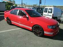 2003 Ford Falcon BA XR6T Red 4 Speed Auto Seq Sportshift Sedan Coopers Plains Brisbane South West Preview