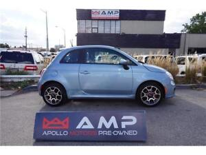 2014 FIAT 500 Sport Automatic Alloys Air We Approve All Credit