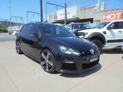 2012 Volkswagen Golf VI MY13 R Black Sports Automatic Dual Clutch Hatchback Granville Parramatta Area Preview