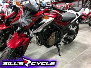 2018 HONDA On Road CB 500 FAJ   ABS Red Metallic