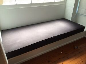 Daybed Cushion - Charcoal Grey Mosman Mosman Area Preview