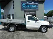 2008 Toyota Hilux 150 SR White Manual SINGLE CAB 4X4 Earlville Cairns City Preview