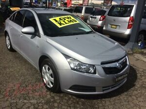 2009 Holden Cruze JG CD Blue 6 Speed Automatic Sedan Lansvale Liverpool Area Preview