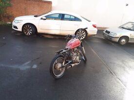 Honda cg125 BR - Project / cg 125 / cafe racer / brat / bobber / tracker