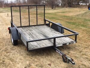 5x8 Utility Trailer - SOLD SOLD SOLD!!!!