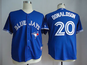 Blue #20 Josh Donaldson Blue Jays Jersey. Brand New In Tags.