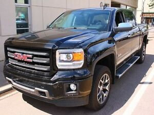 2015 GMC Sierra 1500 SLT 4x4 ALL TERRAIN LOADED BLACK ON BLACK F