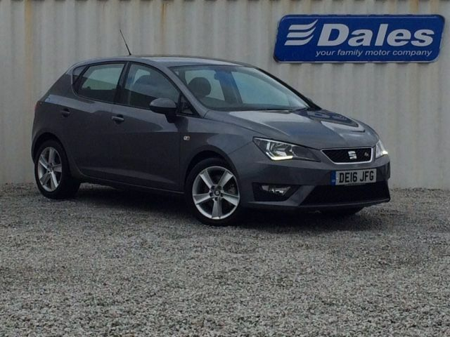 seat ibiza 1 4 tdi 105 fr technology 5dr hatchback grey 2016 in redruth cornwall gumtree. Black Bedroom Furniture Sets. Home Design Ideas