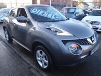 64 NISSAN JUKE VISIA DCI 5 DOOR DIESEL *£20 ROAD TAX*