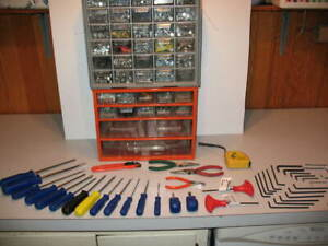 1000's of Fasteners PLUS 45 Hand Tools