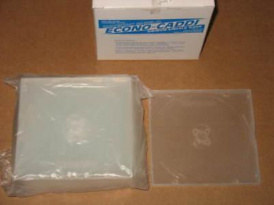 CD Cases DVD Blu-Ray Storage Econo-Caddi Vision Media Boxes music C-230 poly Box